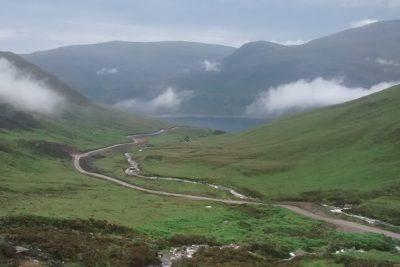Mullardoch road